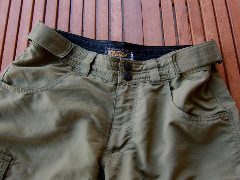 Nice deep hand pockets...
